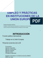 GONZALEZ S ENRIQUE Ofertas de Empleo y Formaci_n en Instit Europeas Jornada Empleo UE