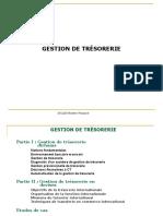 Support Formation Gestion de Trésorerie ISCAE Master Finance Mars 2015 (1) (1)[1]