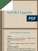 SAP R3 Upgrade