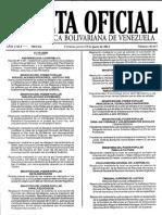 Gaceta oficial Nº 40.437 19-06-2014
