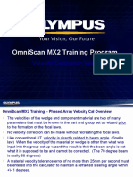 MX2 Training Program 10D Velocity Calibration Wizard