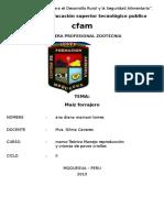 CARTL. CFAM - ZOOTECNIA