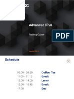 Advanced IPv6 Slides Single