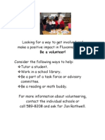 Volunteer in Fluvanna