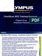 MX2 Training Program 14B Phased Array Analysis-Amplitude