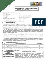 PROGRAMACIÓN Anual - SEGUNDO -I Trimestre y unidades.doc
