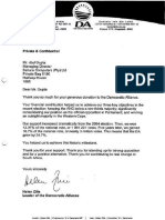 DA Letter to the Gupta