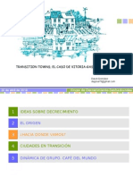 Transition Towns; El Caso de Vitoria-Gasteiz