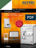 Brochure Cs-580 Chs-580 Es