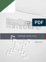 Catalogo Tarifa Brotje 2014.pdf