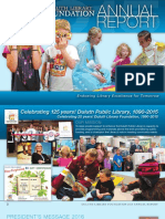 Duluth Library Foundation Annual Report 2015