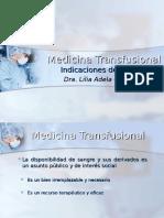 Indicaciones de Transfusión