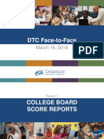 DTC Face-To-Face March 2016