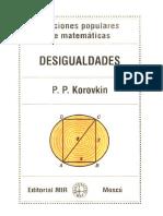 Libro acerca de desigualdades matematicas