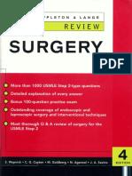 Surgery (Appleton&Lange Review)