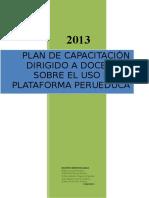 Plan de Capacitación Huarochiri