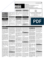 COURIER Classifieds 3-18-16