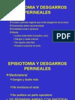 Episiotomia y Desgarros Perineales
