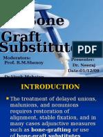 Bone Graft Substitutes