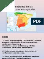TEMA 2. Ubicación Geográfica de Las Diferentes Especies VegetaleS