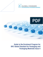 Guide to Enrolment for the BRC Global Standard for Packaging and Packaging Materials Issue 4 UK Free PDF