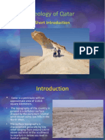 Geology of Qatar 2015