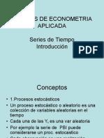 Tópicos de Econometría
