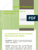 Constitución Del Psiquismo