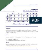 Cap 6 Metodo de Las Dos Fases