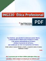 Etica Profesional - Clase 1