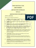 Ley 439 Código Procesal Civil Boliviano