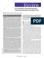 Probiotics for Pediatric Antibiotic-Associated Diarrhea