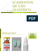 Medicamentos de Uso Psiquiátrico