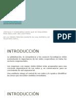 Ventajas y Consideraciones de Auditoria de Redes