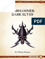 Ravening Hordes - Dark Elves 9th Ed