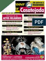 Semana Santa 2016 Cartel Casatejada 2