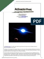 Activación Pineal, La Energía Solar y Recodificación Del ADN