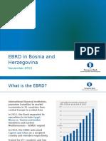 EBRD in Bosnia and Herzegovina