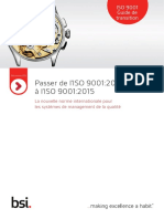 Passer de ISO 9001-2008 à ISO 9001-2015