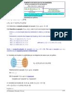 Proposta de Resolução Da Ficha de Revisões n.º4 -Funções, Sequências; Sucessões e Equações -25.02.2016 - 7.ºC