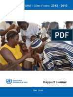 Coopération OMS - Côte d'Ivoire 2012-2013 Rapport Biennal