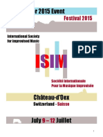 ISIM Program 2015