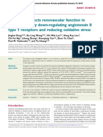 Calcitriol Protects Renovascular Function in Hypertension by Down Regulating Angiotensin II Type 1 Receptors and Reducing Oxidative Stress