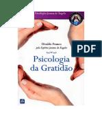 Psicologia Da Gratidao (Psicografia Divaldo Pereira Franco - Espirito Joanna de Angelis)