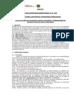RESOLUCION REGLAMENTARIA I.P.V. 122