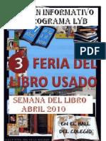 BOLETÍN INFORMATIVO DEL PROGRAMA LYB. ABRIL 2010