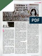 Silvia Suppo, Un Crimen Sin Respuestas - Marzo2014