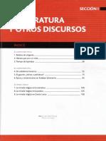 Literatura IV / Santillana  Sección 1, Primera parte (Saberes Clave)