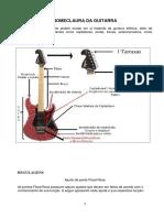 As Nomenclaturas Da Guitarra Elétrica