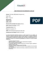 Especificaciones Tecnicas - Polyshade Gris 8mm